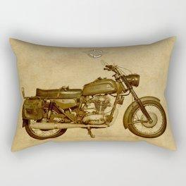 Ducati motorcycle Meccanica Rectangular Pillow