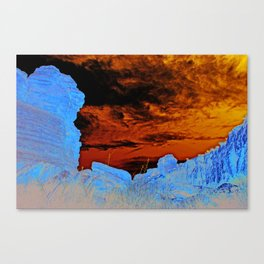 the Fucking Canvas Print