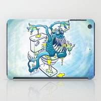 toilet iPad Cases featuring Toilet Monster by Zoo&co on Society6 Products
