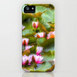 Water Lilys   iPhone Case