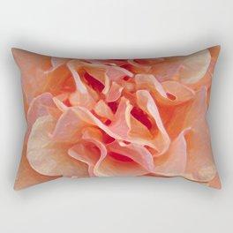 Expressionistic Rose Rectangular Pillow