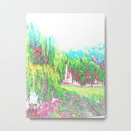 Willows Metal Print