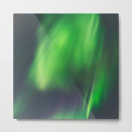 Northern Lights (Aurora Borealis) 9. Metal Print