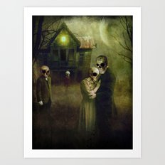 When the Dead Come Home Art Print