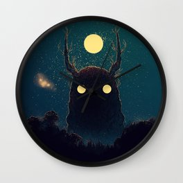 Lost Voices Wall Clock