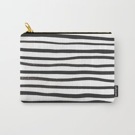 brushstroke stripes Carry-All Pouch