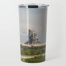 Rocket launch pad Travel Mug