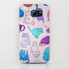 Space Cats Pattern Galaxy S7 Slim Case
