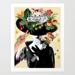 Bon Appetit Baby! Art Print