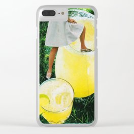 Daiquiri II Clear iPhone Case