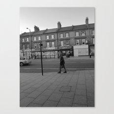 Man Walking Canvas Print