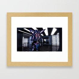 bootleg galactic anime Framed Art Print
