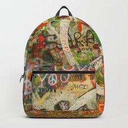 Peace Sign - Love - Graffiti Backpack