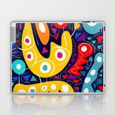 Night Life Abstract Art pattern decoration Laptop & iPad Skin