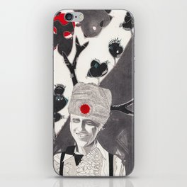'I like the way the trees are on the mountain' iPhone Skin