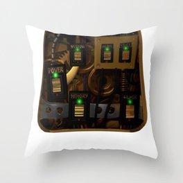 Zane's Chest Plate Throw Pillow