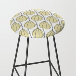 Provolone (cheese pattern) Bar Stool
