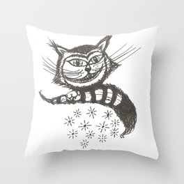 Disapearing Act Throw Pillow