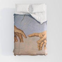 Michelangelo's Creation Comforters
