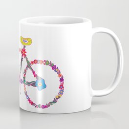 Bike Flourish Coffee Mug