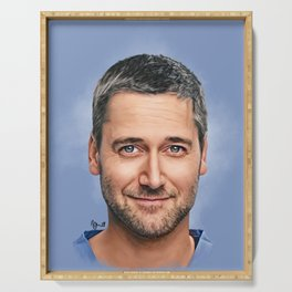 Dr. Max Goodwin // Ryan Eggold // New Amsterdam Serving Tray