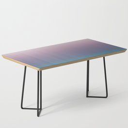 Ombré, Purple, Blue, Green, Pink, Teal, Color Blend Coffee Table