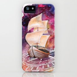 Space Ship iPhone Case