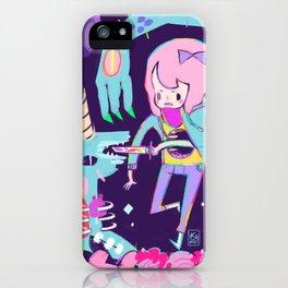 Time hole unicorn iPhone Case