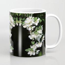 White Flower Cascade Coffee Mug