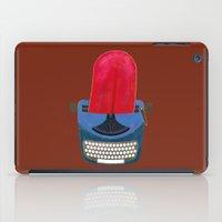 typewriter iPad Cases featuring Typewriter by gunberk