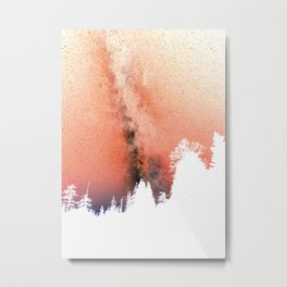 White pine trees Metal Print