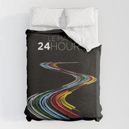 Racing Lines - Le Mans 24 Hours Duvet Cover