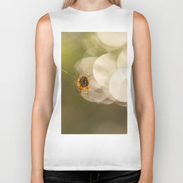 Autumn is Spiders Time #decor #society6 #buyart Biker Tank