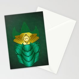 Green Iron Ranger Stationery Cards