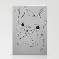 danny ivan Stationery Cards featuring Ivan by seekmynebula