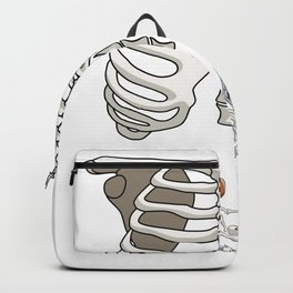Football Skeleton Backpack