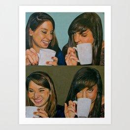 Drinkin' Outta Cups, Bein' A Bitch Art Print