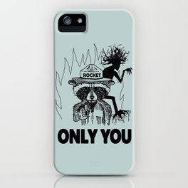 Only YOU can guard the galaxy iPhone Case