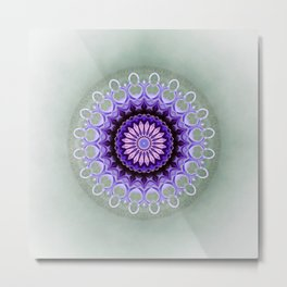 Mandala Friendship Metal Print