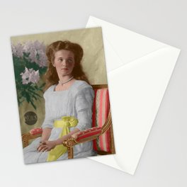 Olga Nikolaevna, 1910 - Colorized Stationery Cards