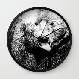 Grizz Wall Clock