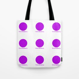 Vivid Mulberry Tote Bag