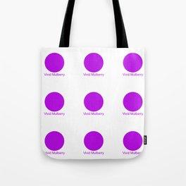 Vivid Mulberry Tote Bag