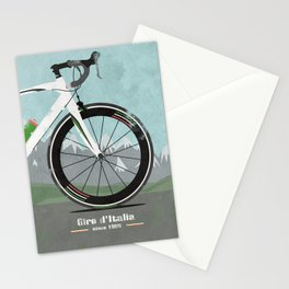 Giro d'Italia Bike Stationery Cards