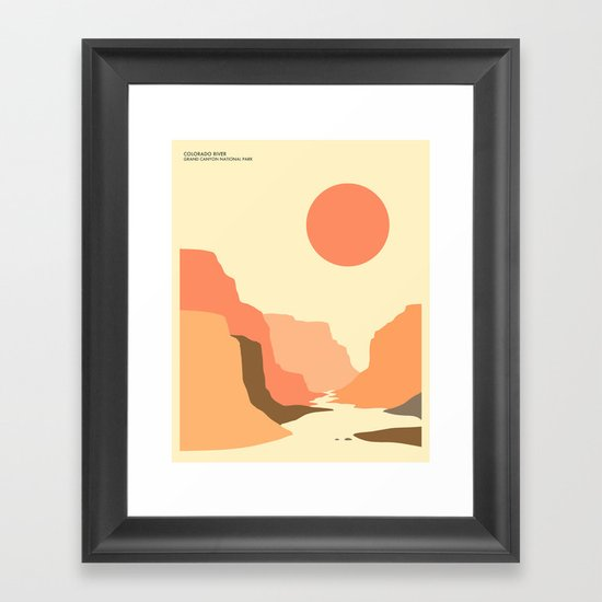 GRAND CANYON NATIONAL PARK Framed Art Print