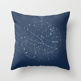 TAURUS - Astronomy Astrology Constellation Throw Pillow