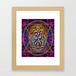Rego Industries Mandala Framed Art Print