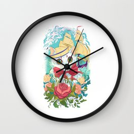 Sailor Kitty Wall Clock