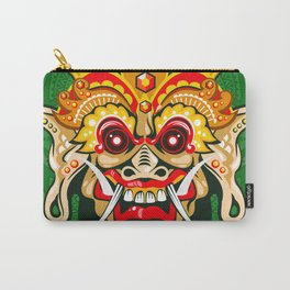 Balinese mask / Bali / Barong #2 Carry-All Pouch