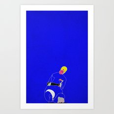 Burden Art Print